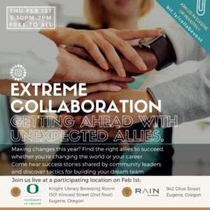 EXTREME COLLABORATION @ Knight Library, Eugene | Eugene | Oregon | United States